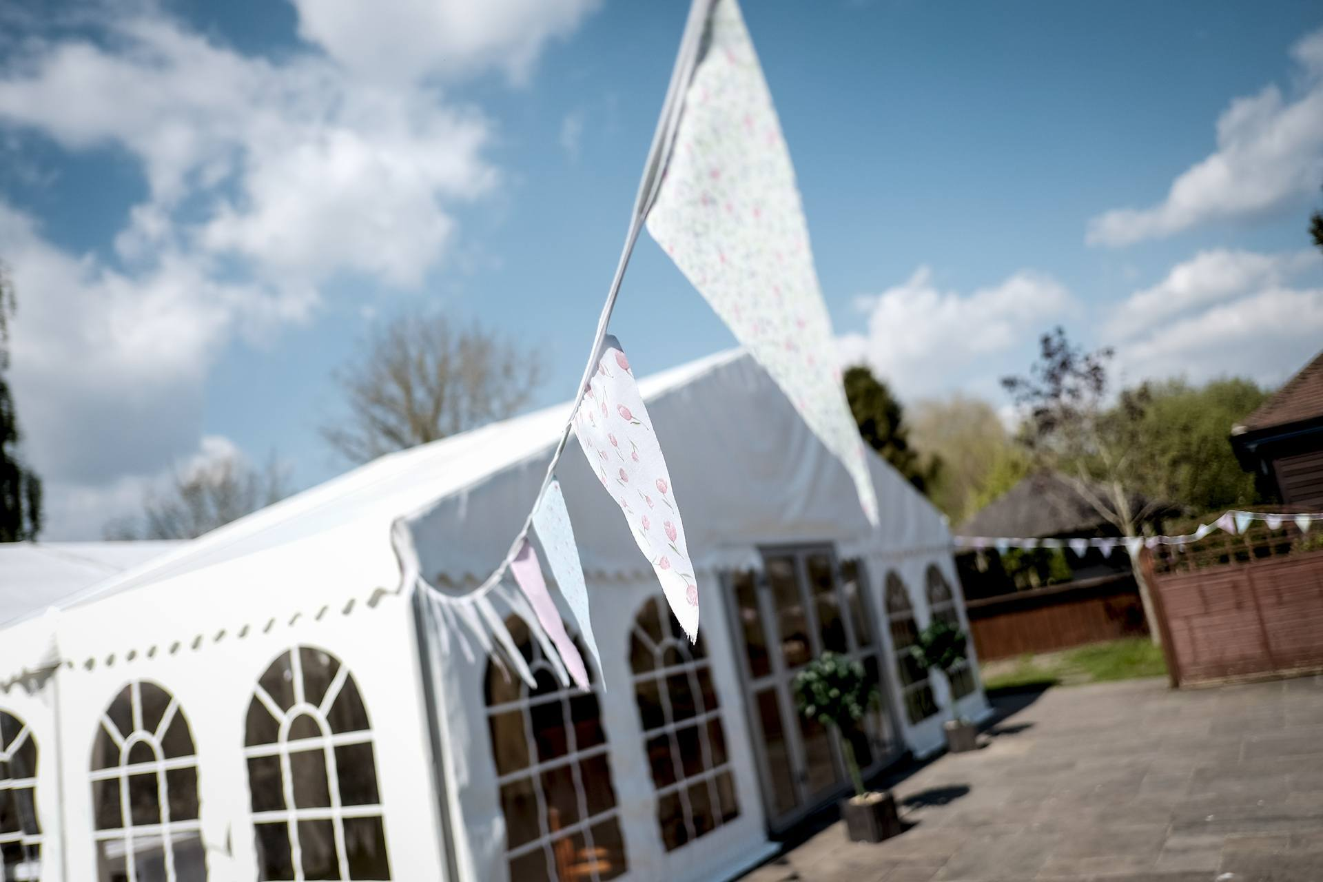 Weddings in our Marquee at the Cromwell arms
